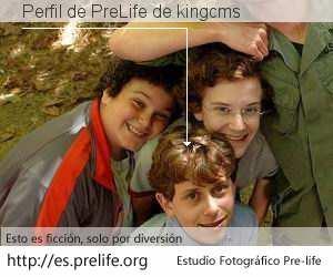 Perfil de PreLife de kingcms