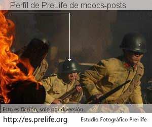 Perfil de PreLife de mdocs-posts