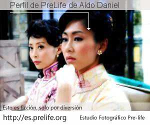 Perfil de PreLife de Aldo Daniel