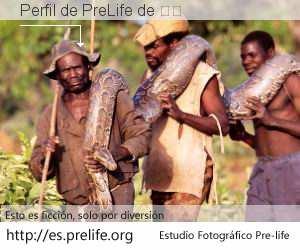 Perfil de PreLife de 托托