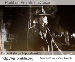 Perfil de PreLife de Cesar