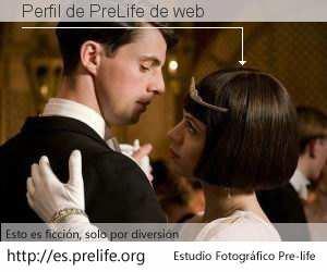 Perfil de PreLife de web