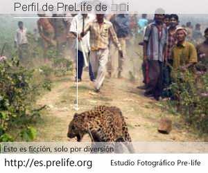 Perfil de PreLife de 开发i