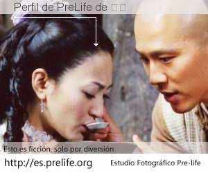Perfil de PreLife de 王尚