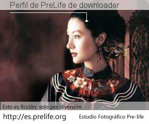 Perfil de PreLife de downloader
