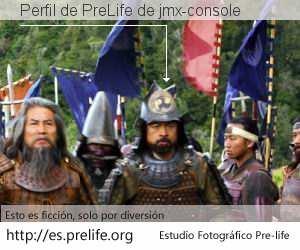 Perfil de PreLife de jmx-console