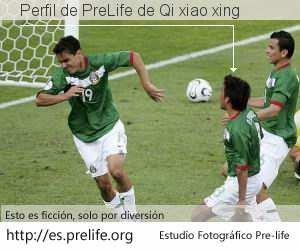 Perfil de PreLife de Qi xiao xing