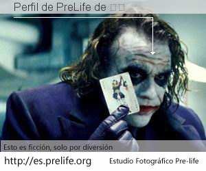 Perfil de PreLife de 萨赖