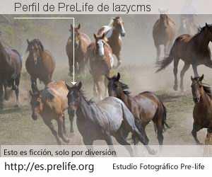 Perfil de PreLife de lazycms