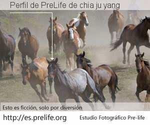 Perfil de PreLife de chia ju yang
