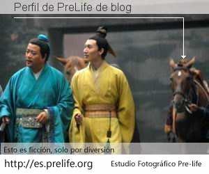 Perfil de PreLife de blog