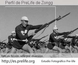 Perfil de PreLife de Zongg