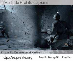 Perfil de PreLife de jxcms