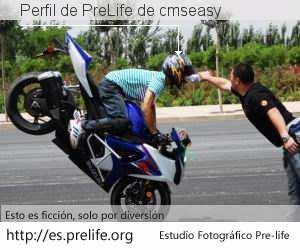 Perfil de PreLife de cmseasy