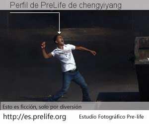 Perfil de PreLife de chengyiyang