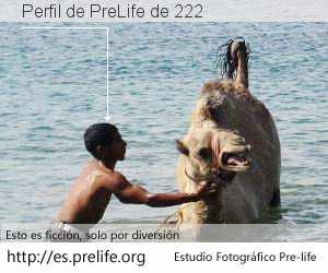 Perfil de PreLife de 222