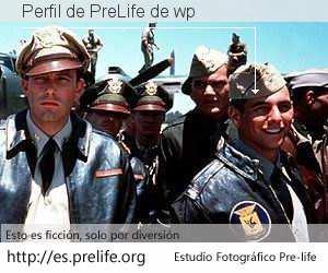 Perfil de PreLife de wp
