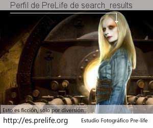 Perfil de PreLife de search_results