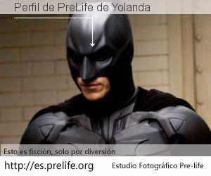Perfil de PreLife de Yolanda