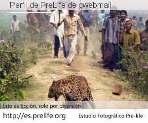Perfil de PreLife de gwebmail