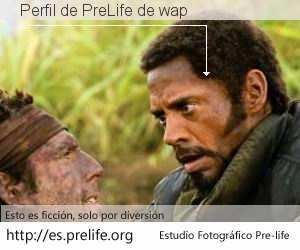 Perfil de PreLife de wap