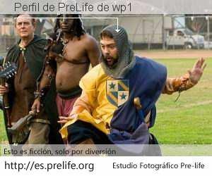 Perfil de PreLife de wp1