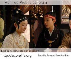 Perfil de PreLife de forum