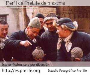 Perfil de PreLife de maxcms