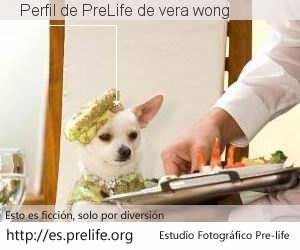 Perfil de PreLife de vera wong