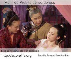 Perfil de PreLife de wordpress