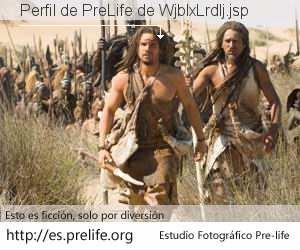 Perfil de PreLife de WjblxLrdlj.jsp