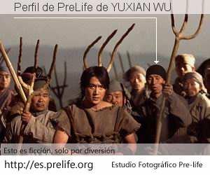 Perfil de PreLife de YUXIAN WU