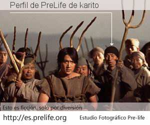 Perfil de PreLife de karito