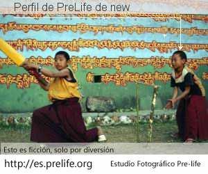 Perfil de PreLife de new