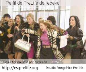 Perfil de PreLife de rebeka