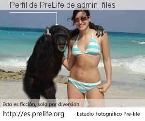 Perfil de PreLife de admin_files