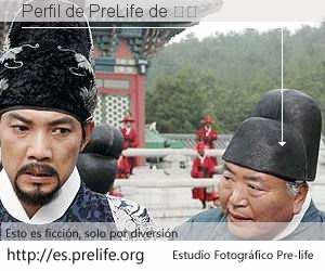 Perfil de PreLife de 张毅
